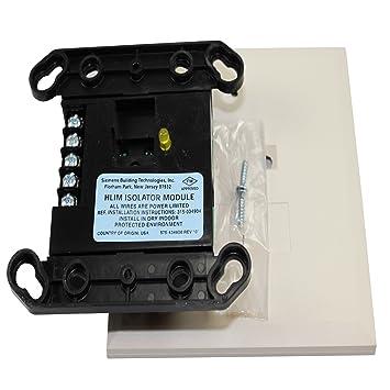 Siemens hlim/500 - 033170 alarma contra incendios Loop aislador de masa para línea memoria: Amazon.es: Bricolaje y herramientas