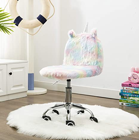 Admirable Colorful Childrens Unicorn Chair Sweat Seats Kids Study Desk Chair Animal Computer Rolling Swivel Chair With Silver Foot Dailytribune Chair Design For Home Dailytribuneorg