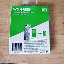 Western Digital WD Verde Internal SSD M.2 SATA, Verde, 480 GB ...
