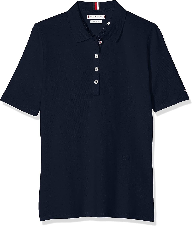 Tommy Hilfiger Th Essential Reg Polo SS Femme