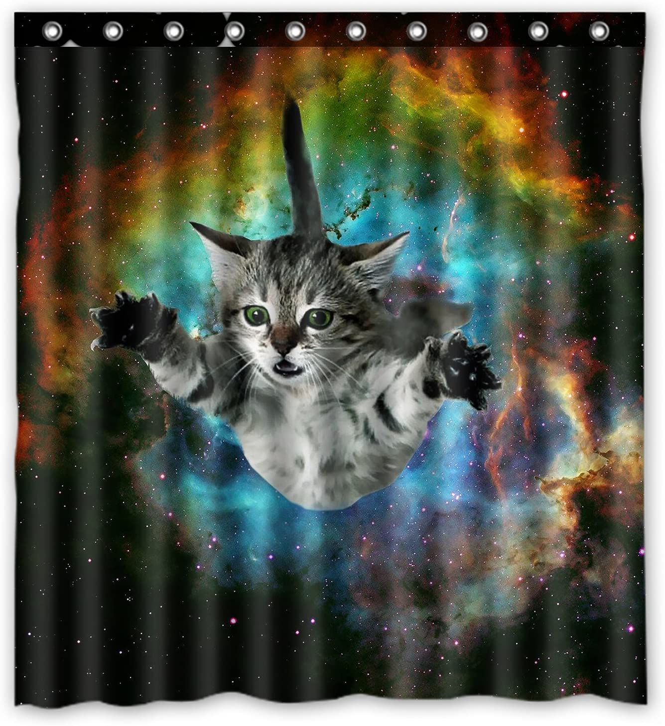 space cat water proof polyester fabric