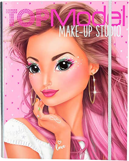 4 years Depesche TOPModel Make-Up Colouring Book