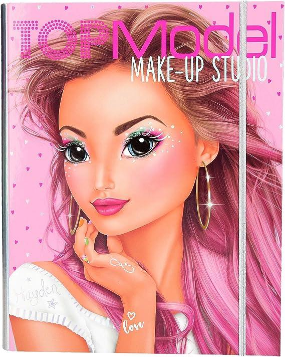Depesche- Make Up Creative Mappe TopModel - Estuche para Maquillaje, Color carbón (10165): Amazon.es: Juguetes y juegos