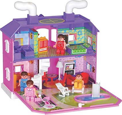 Buy Gsmi Doll House 35 Pcs Online At Low Prices In India Amazon In