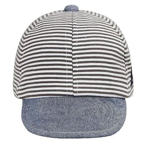 Bébé bonnet Casquette couple bébé 3-13 mois casquette à Visière en Coton  tisse immersion f95d21dcc29