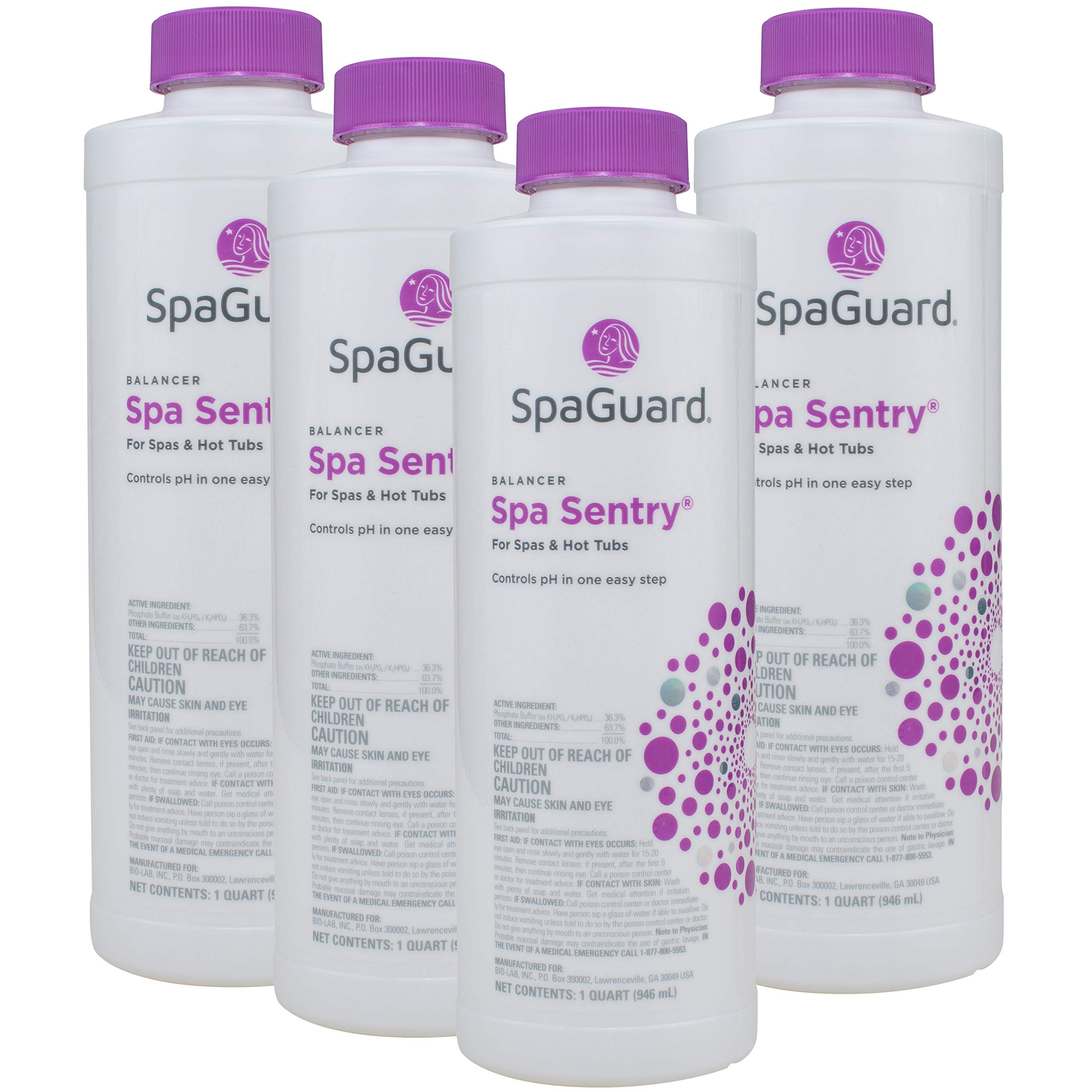 SpaGuard Spa Sentry (1 qt) (4 Pack) by SpaGuard