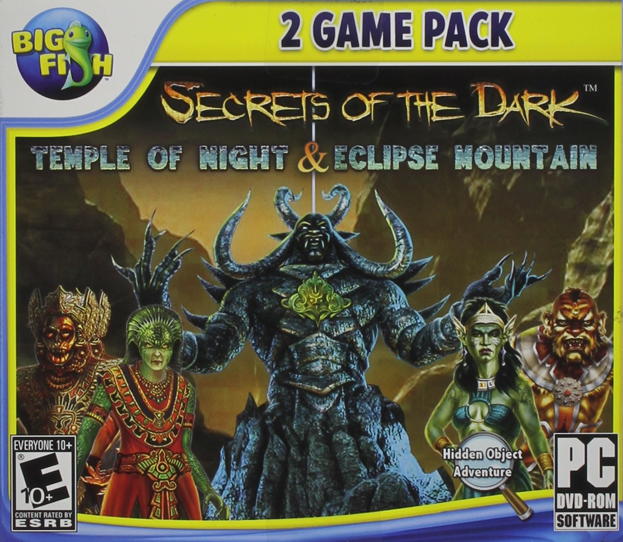 Secrets of the Dark Dual Pack: Temple of Night and Eclipse Mountain - PC