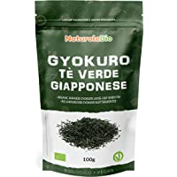 Biologische Japanse Groene Thee Gyokuro 100 gram. 100% Bio, Natuurlijke en Zuivere Groene Thee van de Eerste Pluk…