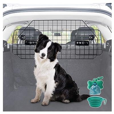Ruff 'n Ruffus Heavy-Duty Dog Car Barrier