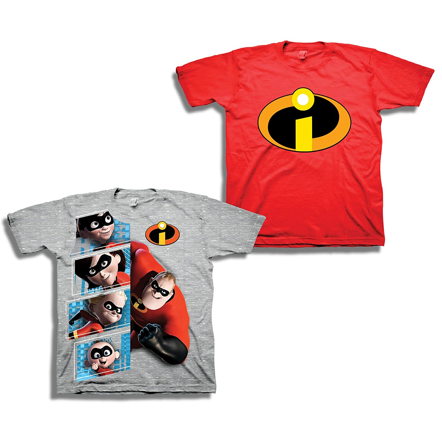 4efb8a3ce Each tee has a colorful print with your favorite Incredibles characters: Mr  Incredible, Jack Jack, and Elastigirl.