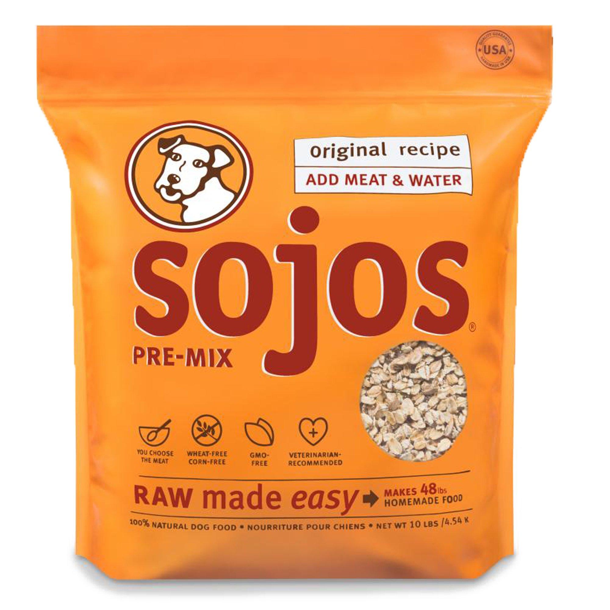 Original Dry Dog Food Mix Size: 10-lb bag by SOJOS