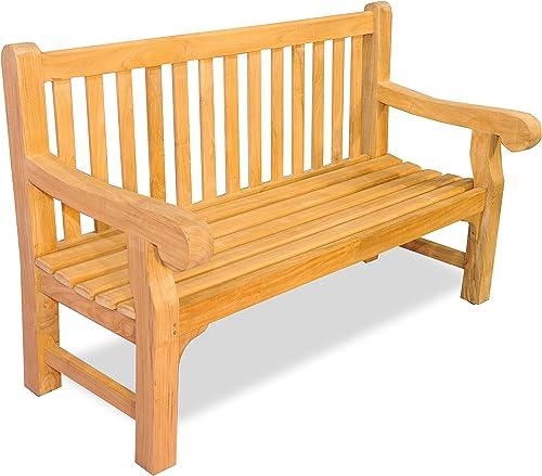 Teak Hyde Park Bench 5 Ft