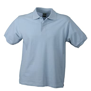 9b2153f60c6a James   Nicholson Herren Poloshirt Classic Polo, Gr. Small, Blau (hellblau)