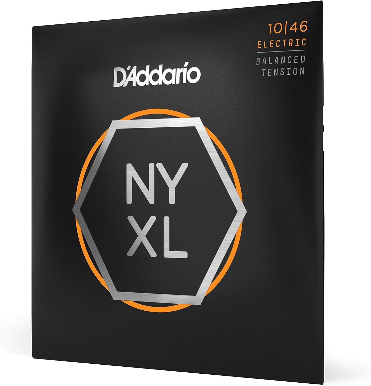 Cuerdas para Guitarra Eléctrica D'Addario NYXL1046BT Nickel Wound, Balanced Tension, 10-46
