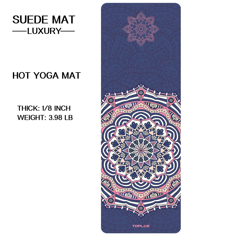 Amazon.com : TOPLUS Yoga Mat - Luxury Designer Cooperated ...