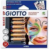 Giotto 470200 - Make Up Matite Cosmetiche Colori Classici