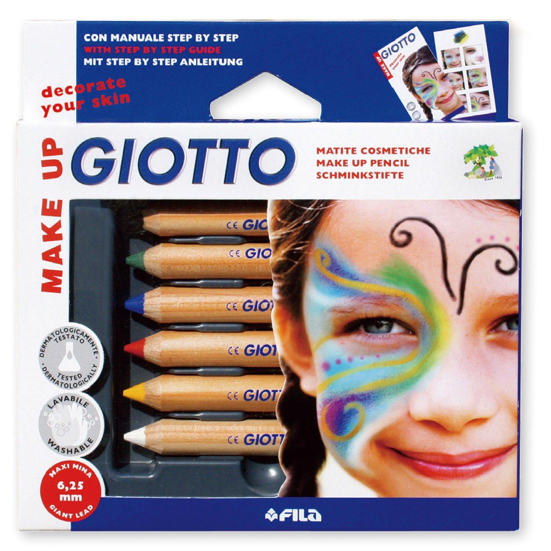 Giotto 470200 - Make Up Matite Cosmetiche Colori Classici FILA Italy reikos_0019522742AM_0028199