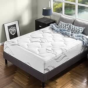 Zinus 12 Inch Cloud Memory Foam Mattress / Pressure Relieving / Plush Feel / Bed-in-a-Box / OEKO-TEX and CertiPUR-US Certified, Queen