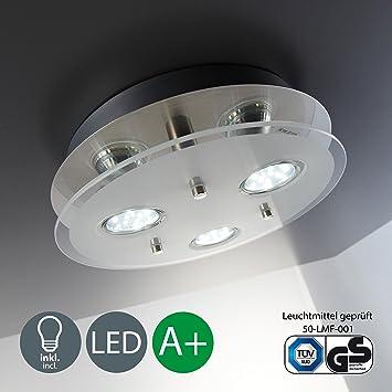 Bk Licht Plafonnier Led 3 Spots Spots Plafond éclairage Plafond