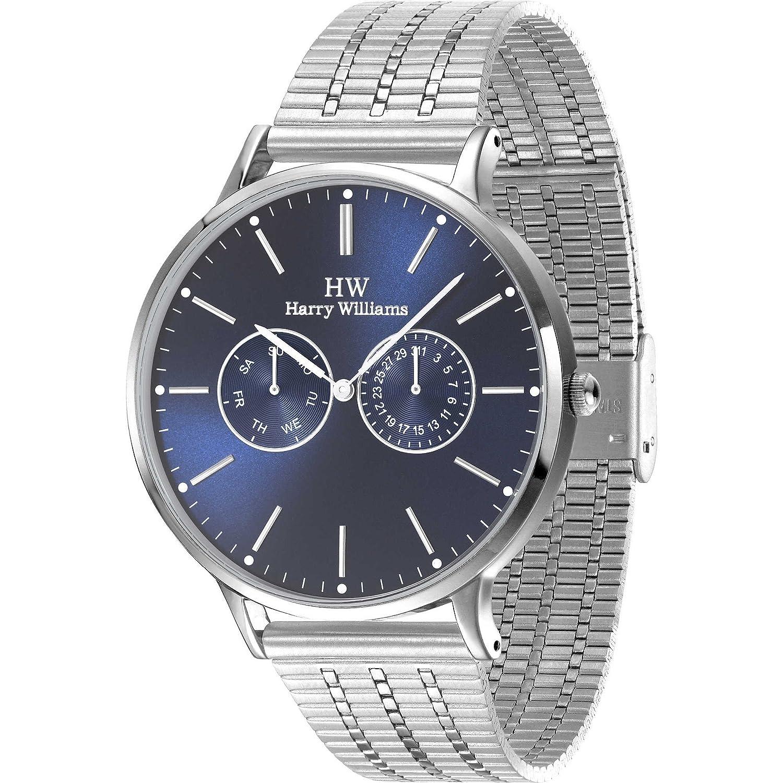 Multifunktions-Armbanduhr Herren Harry Williams Sportliche Cod. hw-2402j-05 M