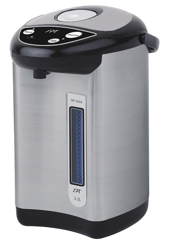 Spt 3.2-Liter Stainless Hot Water Dispenser Sunpentown SP-3202