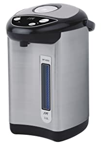 SPT SP-3202 3.2L Hot Water Dispenser 10.2 x 10.2 x 13 Inch Stainless Steel