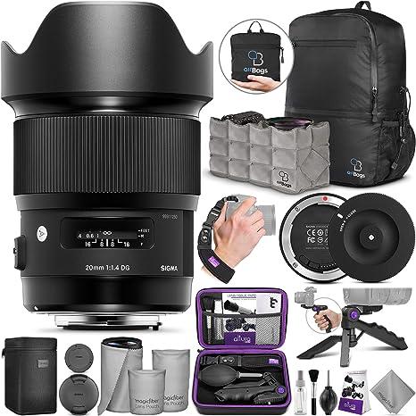 Amazon.com: Sigma 0.787 in f/1.4 DG HSM lente de arte para ...