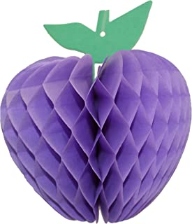 product image for 3-Pack 7 Inch Honeycomb Apple Decoration, Lavender