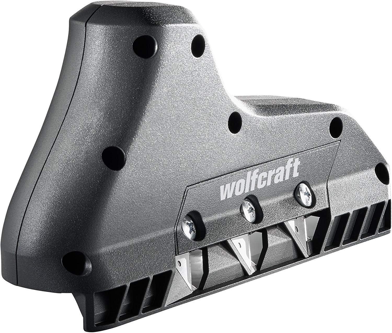 1 Stück 4009000 Neu Wolfcraft 3-fach Kantenhobel