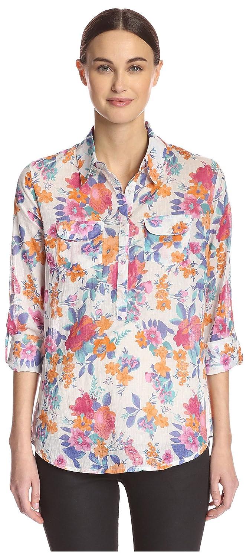 6c4d23eb547afa Jak Women s Floral Button Down Shirt