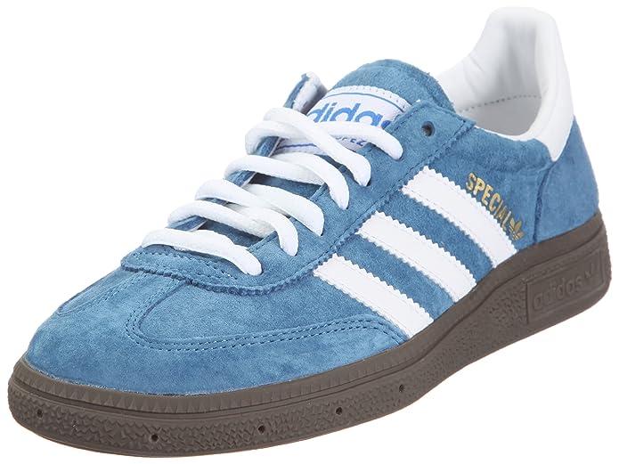 adidas Spezial Sneakers Unisex Erwachsene Blau mit weißen Streifen