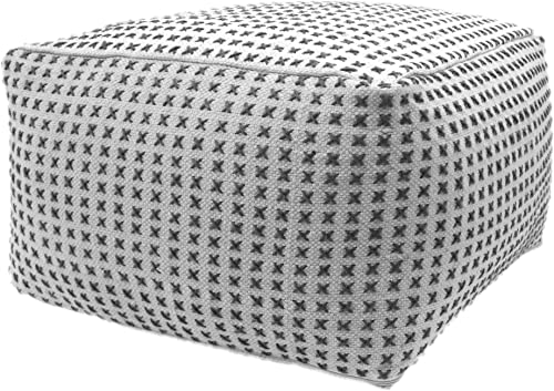 Christopher Knight Home Breenda Large Square Casual Pouf