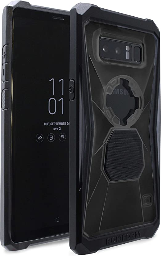 Black Rokform Rugged Case for Samsung Galaxy S8 Plus