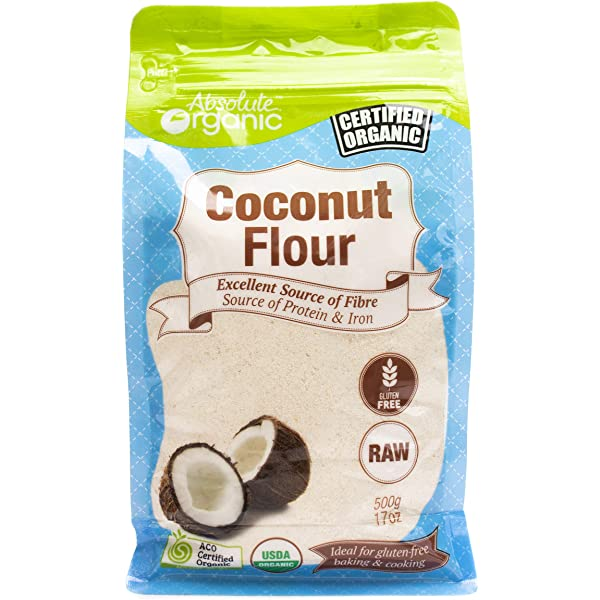 Absolute Organic Coconut Flour 500g Amazon Com Au Grocery Gourmet Food