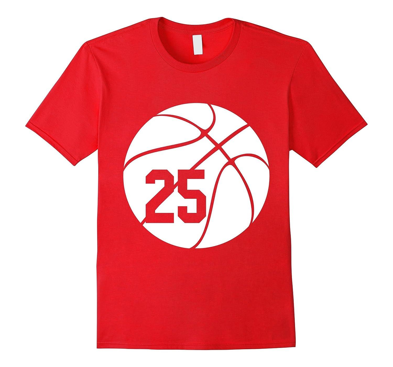 Basketball Shirt With Jersey Number 25-Vaci