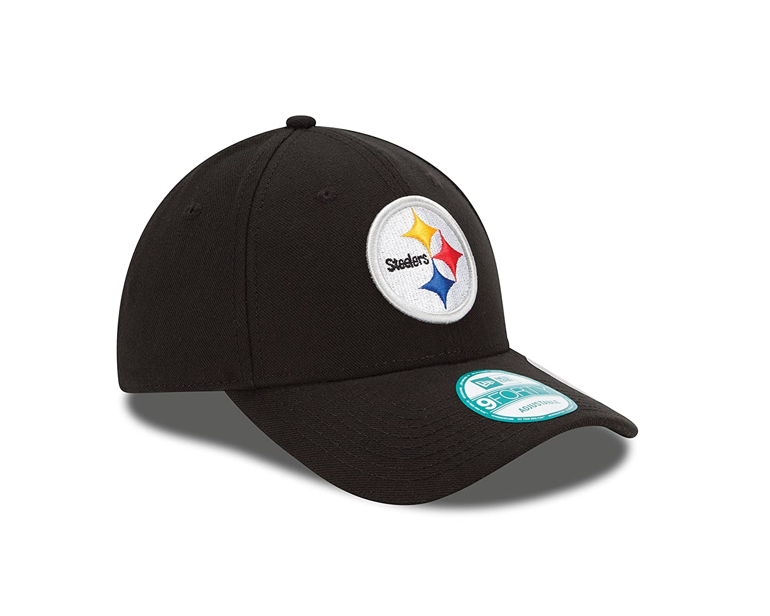 667425cfb27ac Amazon.com   NFL The League Pittsburgh Steelers 9Forty Adjustable Cap   Sports  Fan Baseball Caps   Clothing