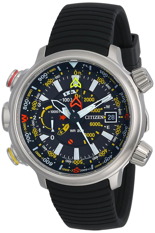 Citizen BN5030-06E - Reloj para Hombres, Correa de Goma Color Negro: Amazon.es: Relojes