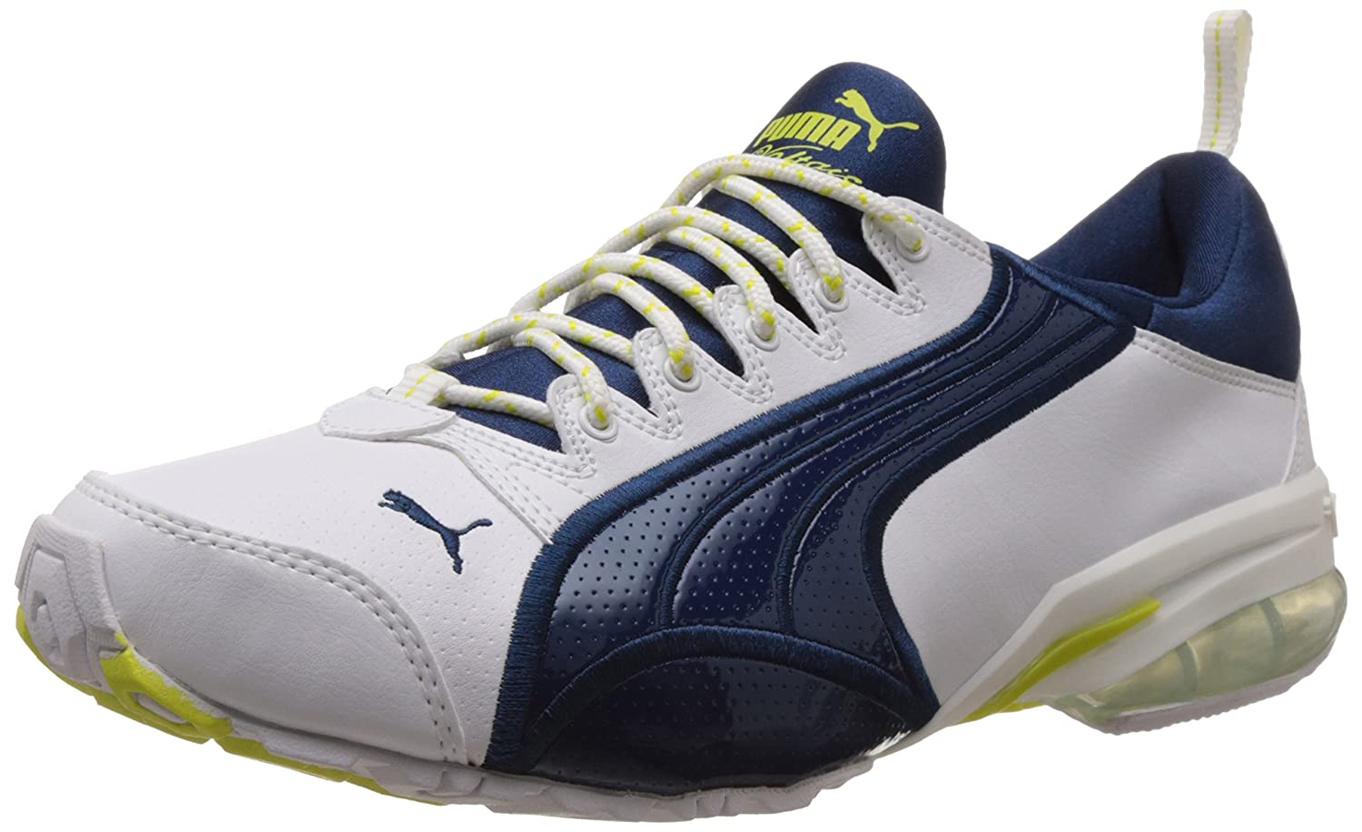 Puma Men's Voltaic II DP White, Poseidon and Sulphur Spring Mesh Running  Shoes - 8 UK/India (42 EU): Buy Online at Low Prices in India - Amazon.in