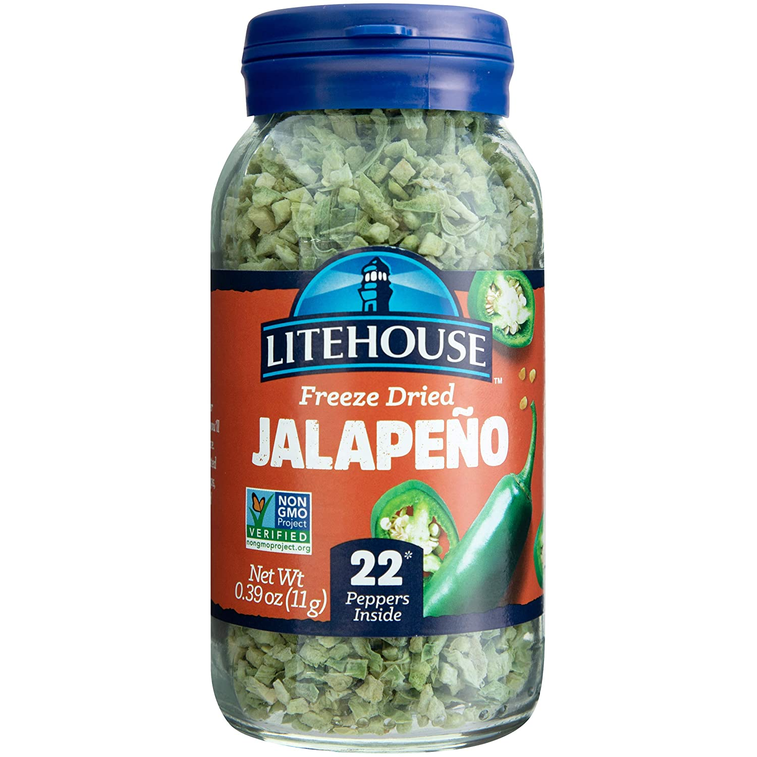 Litehouse Freeze Dried Jalapeno Herb, 0.39 Ounce