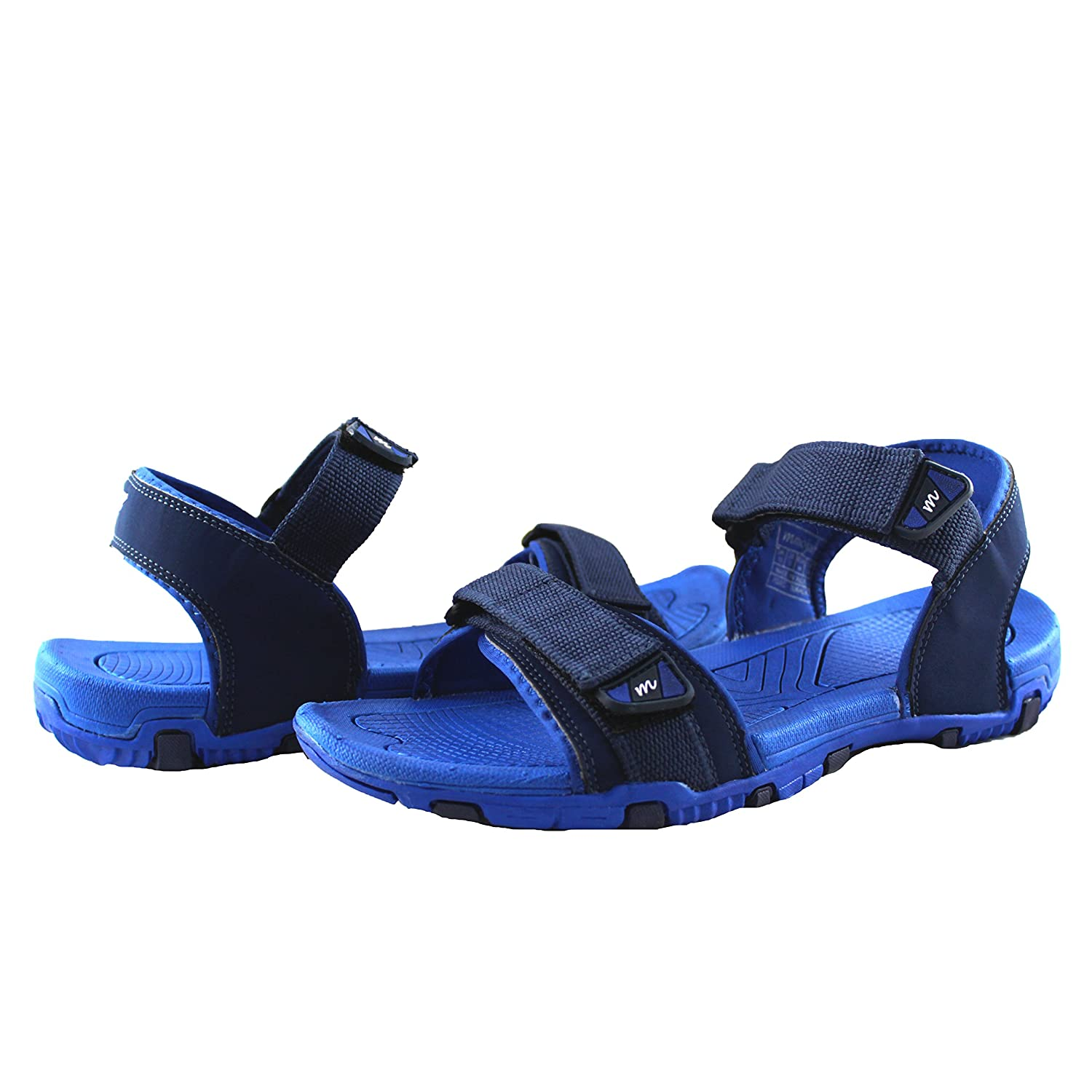 Mmojah Mens Strider Navy/Royalblue Sandal -8