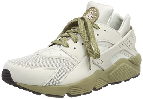 on sale fb677 c9039 NIKE Men s Air Huarache Trainers, White Light Bone Neutral Olive 050, 6 UK