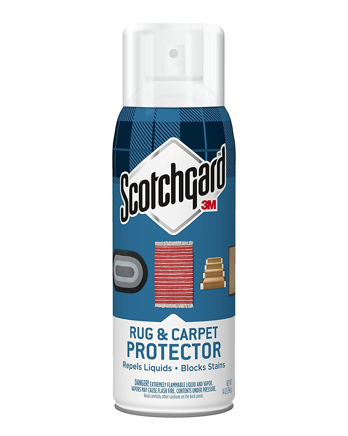 Scotchgard Rug & Carpet Protector, 1 Can, 14-Ounce