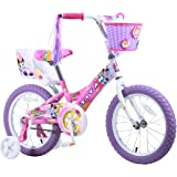 Titan Girl's Flower Princess BMX Bike