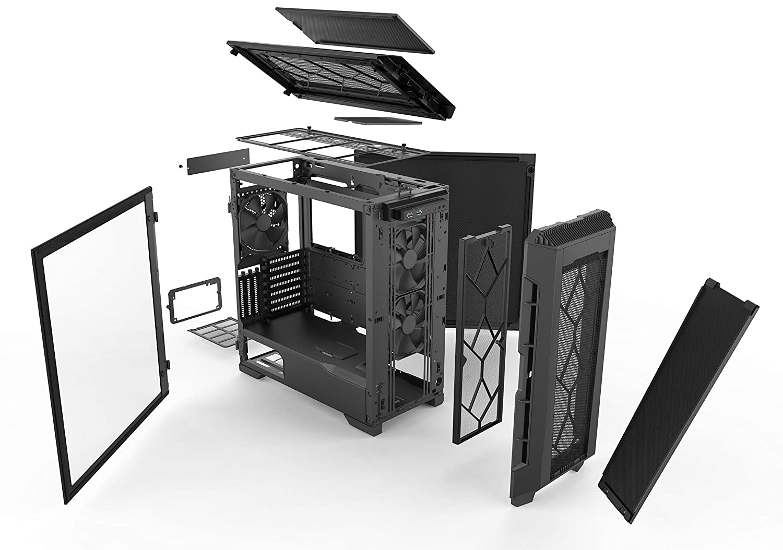 Phanteks Eclipse P600S Midi ATX Tower Black