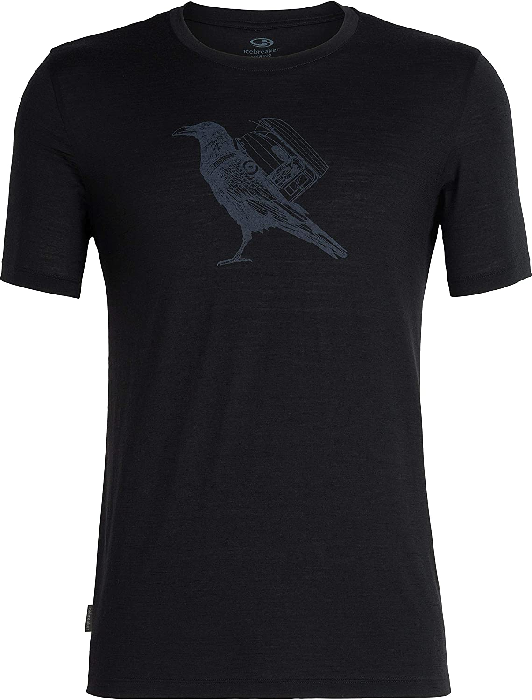 Icebreaker Herren  Herren Tech Lite Ss Crewe Ravencamp T-Shirt