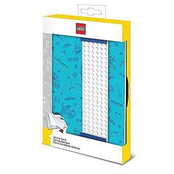 LEGO - Agenda con Banda de construcción, Color Azul (51523)