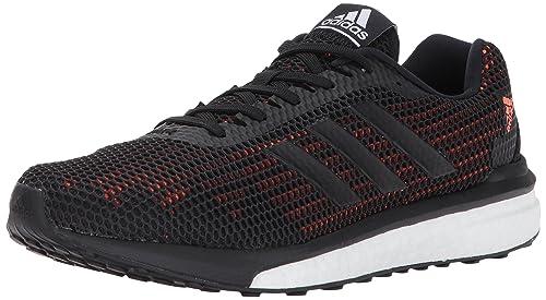 online store a4cfa 3e842 Adidas Men s Vengeful m Running Shoe, Black Solar Orange, 8 Medium US