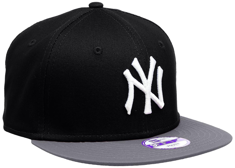 af77deba935 ... amazon new era new york yankees 9fifty boys snapback cap black grey  white 10880043 sports outdoors ...