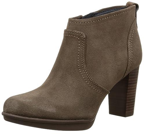 Tommy Hilfiger Jakima 5B - Botines para mujer, Marrón (906 mink), 36: Amazon.es: Zapatos y complementos
