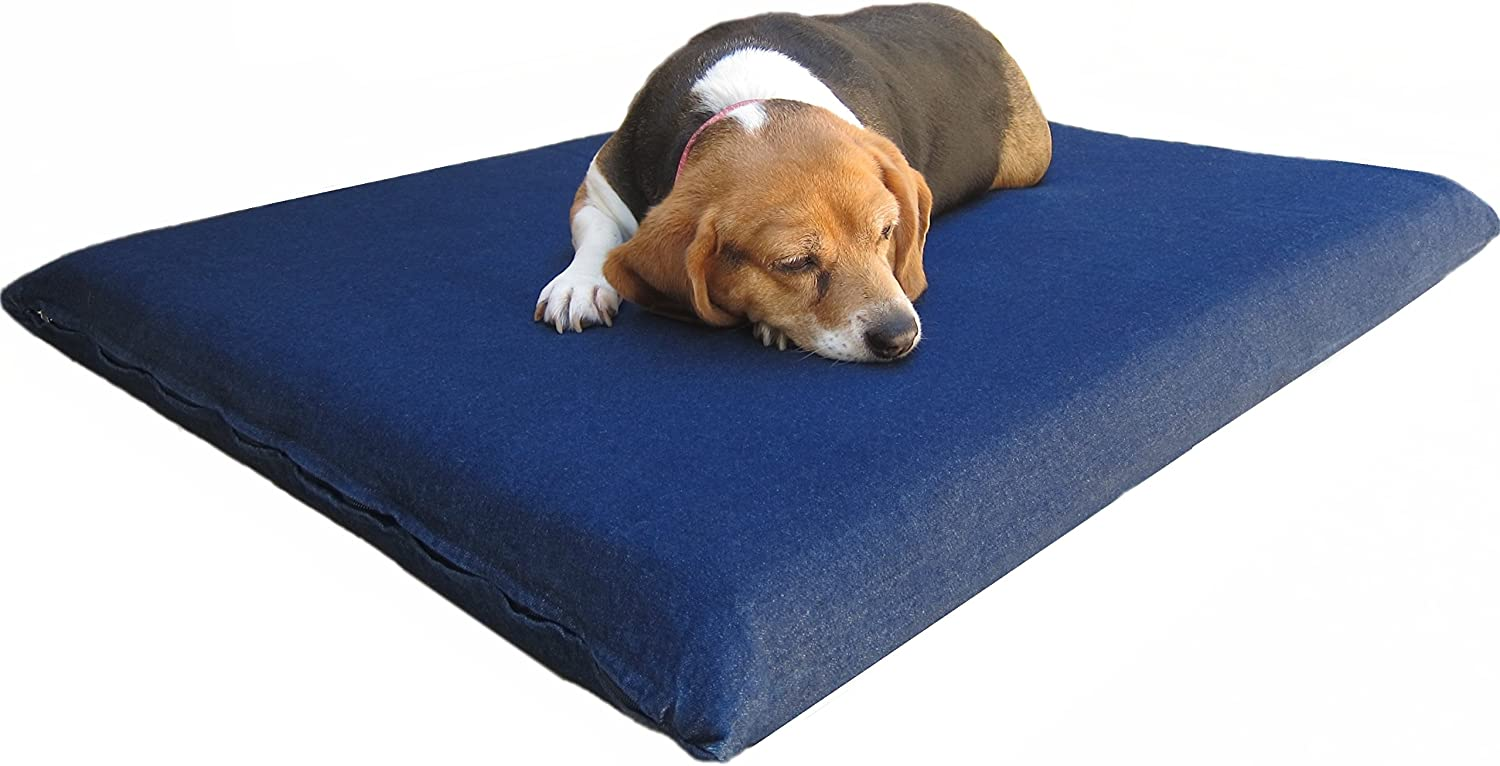 Dogbed4less XL Memory Foam Dog Bed for Medium to Large Pet, Waterproof Liner with Washable Durable External Cover